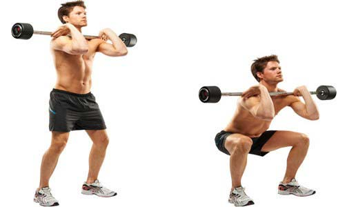 barbell_front_Squat