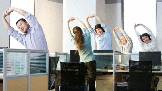 25 τρόποι για να γυμναστείς στον χώρο εργασίας