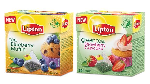 Lipton Πράσινο Τσάι Strawberry Cupcake & Lipton Μαύρο Τσάι Blueberry Muffin: 2 νέες γεύσεις τσαγιού... για φάγωμα!