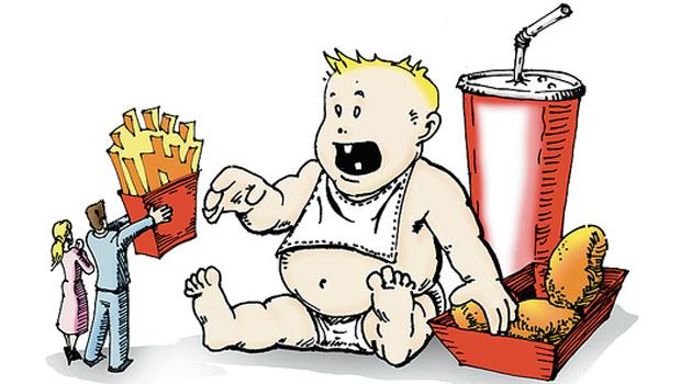 Η παιδική παχυσαρκία στο μικροσκόπιο