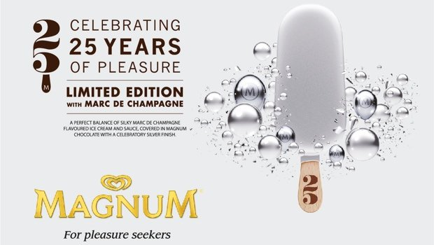 Magnum 25 years Special Edition: Παγωτό ''αμαρτία''