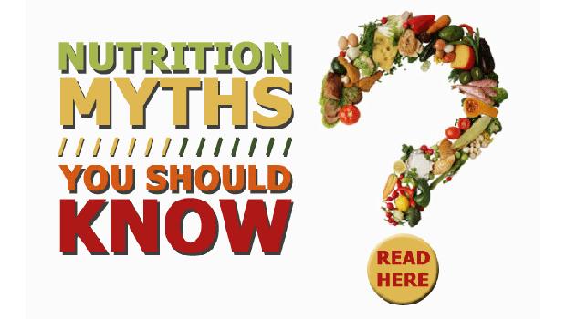 Μύθοι και Αλήθειες γύρω από τη διατροφή