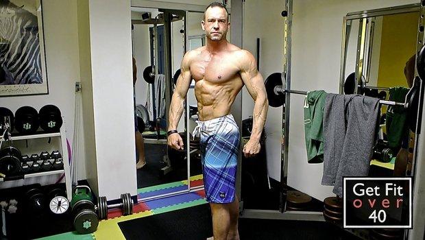 Χτίσε το σώμα σου ακόμη και μετά τα 40!