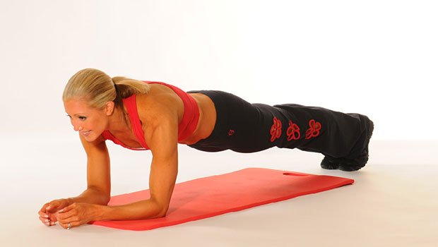 Plank (σανίδα) με κωπηλατική για μεγαλύτερη δυσκολία