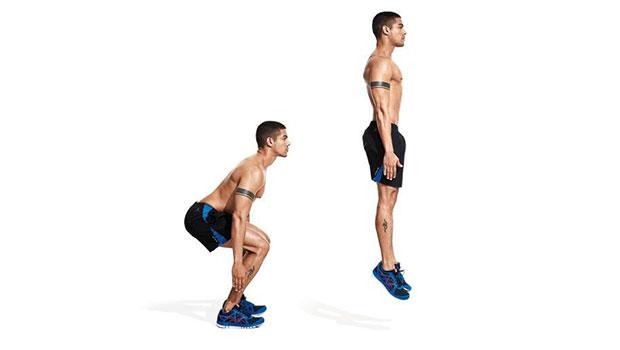 Jump Squats για αύξηση της εκρηκτικότητας