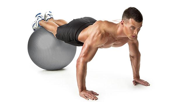 Πρόγραμμα σύσφιξης με μπάλα σταθερότητας (stability ball)