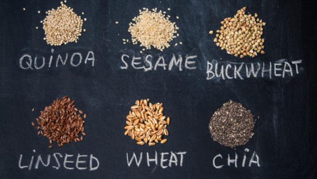 Υγιεινές επιλογές σπόρων αντί του κλασικού σιταριού