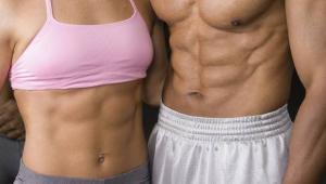 Κοιλιακοί: Συνδυασμός διατροφής και άσκησης